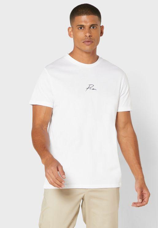 Premium Regular Fit Crew Neck T-Shirt