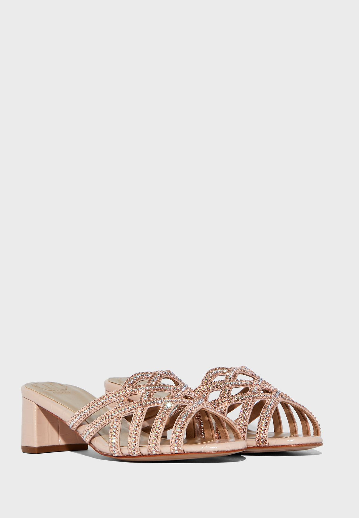 Hanrietta Mid-Heel Sandals