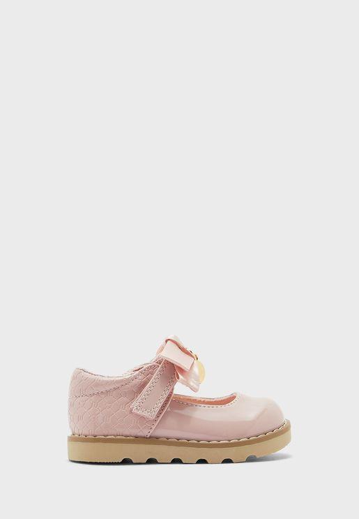 Girls Bow Sandals