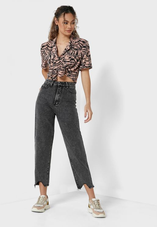 Slouchy Jeans In Stonewash