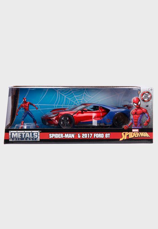 Marvel Spiderman 2017 Ford Gt