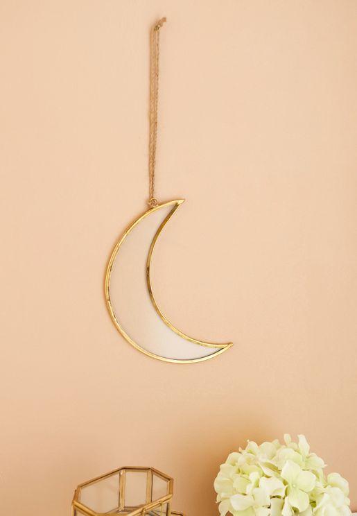 Metal Hanging Moon