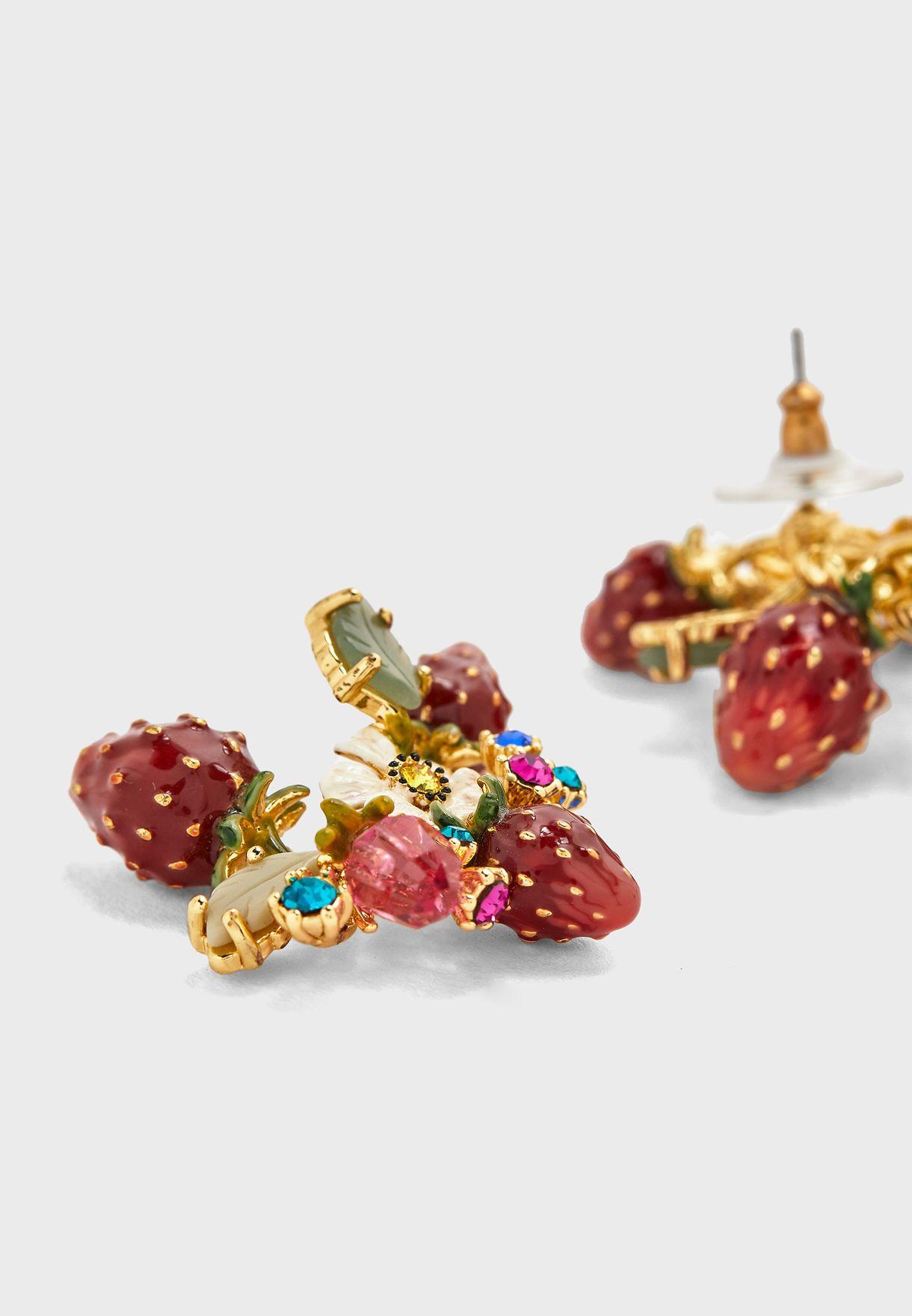 Royal Gardens Bouquet Stud Earrings