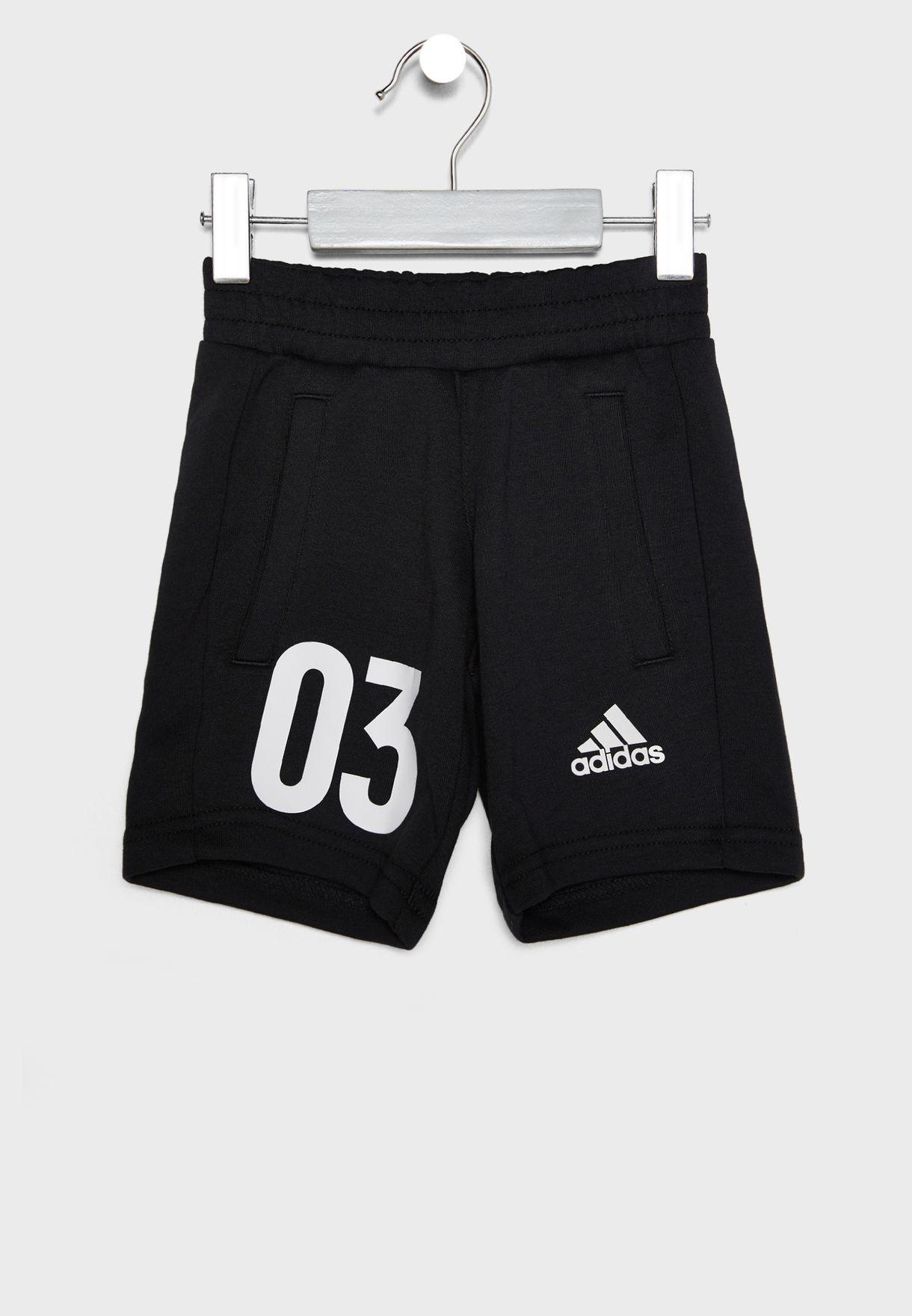 Kids Knit Shorts