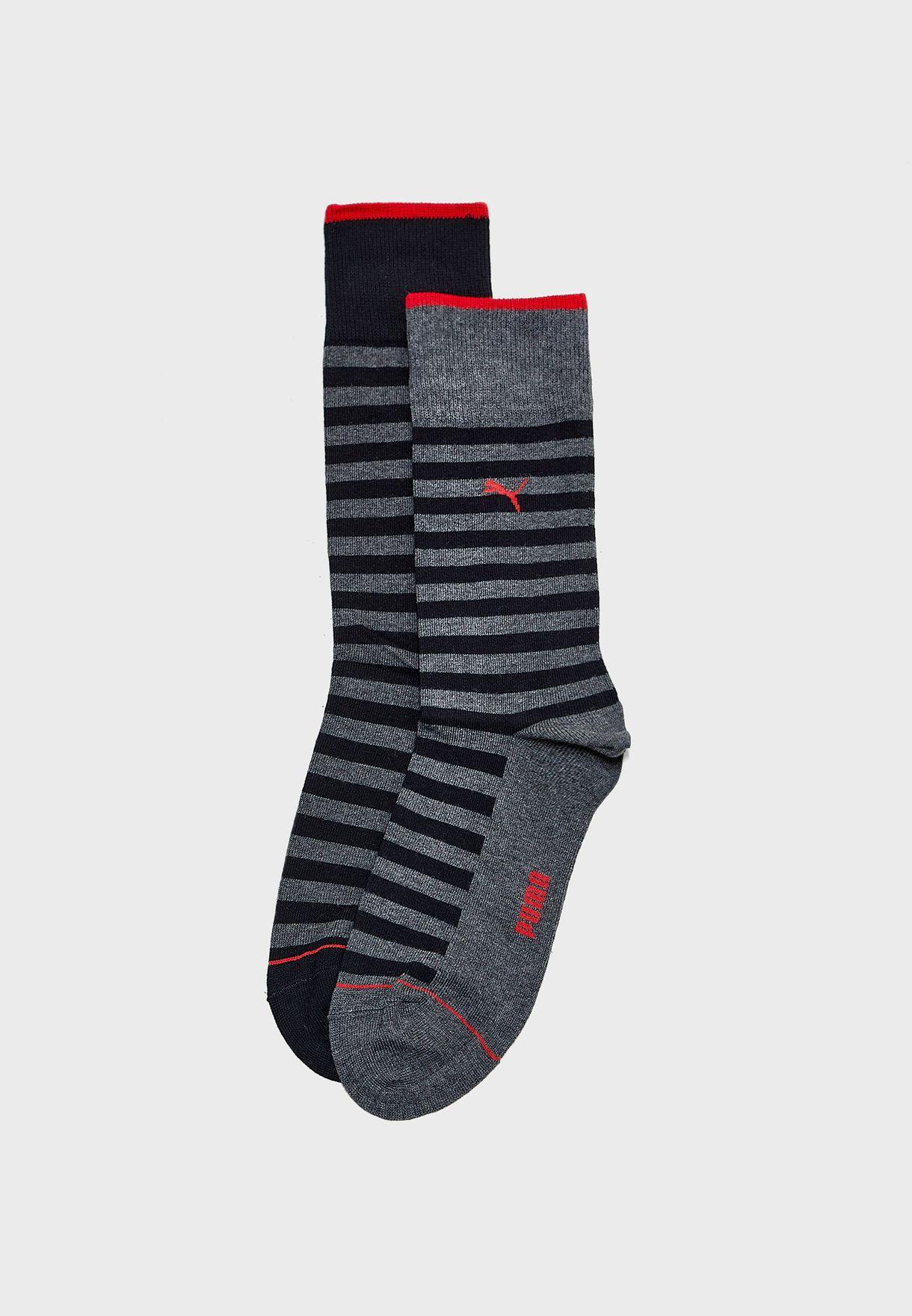 2 Pack Classic Socks