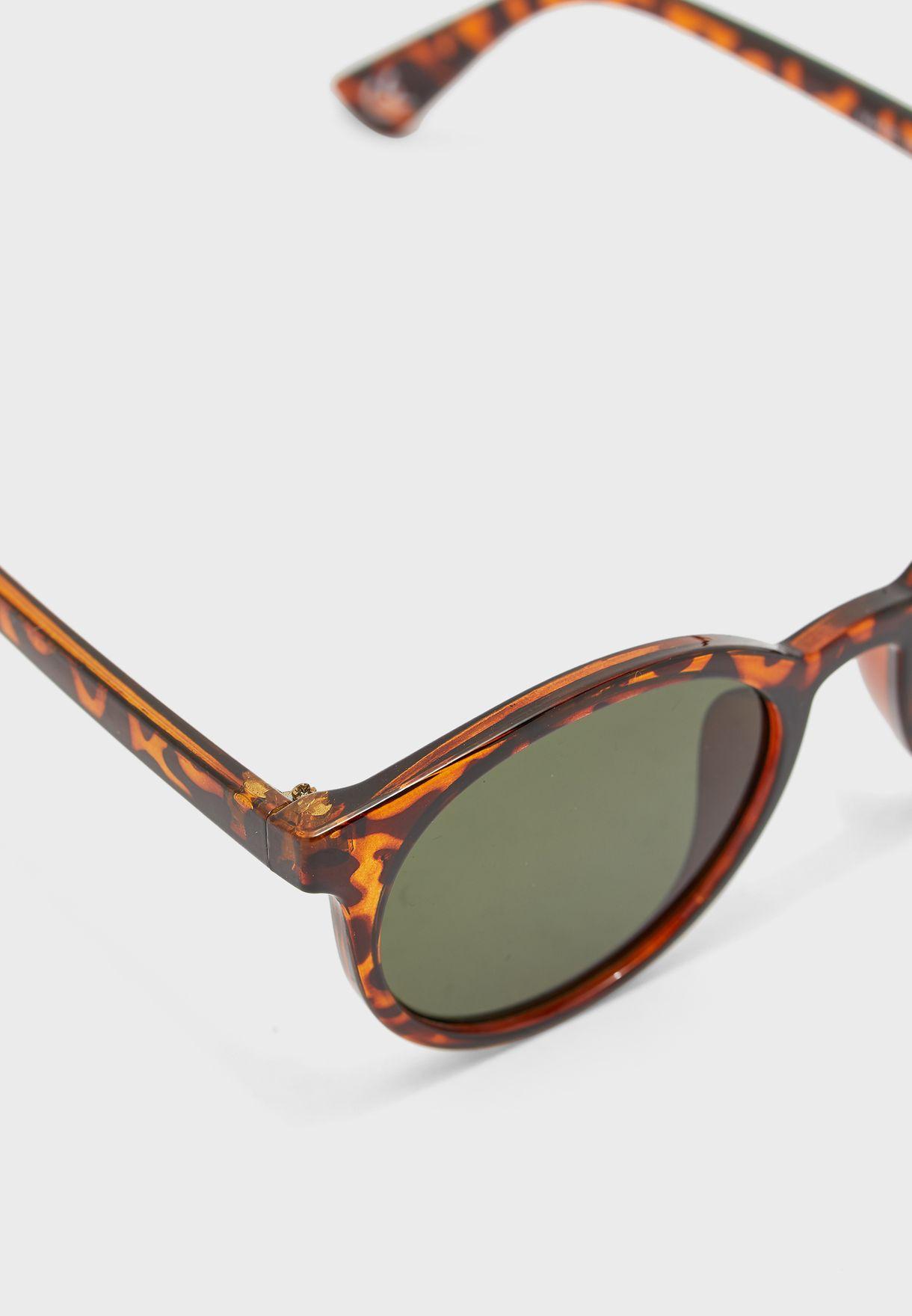 نظارة شمسية دائرية عين القطة