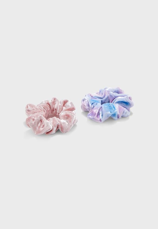 Multipack Scrunchie Hair Tie