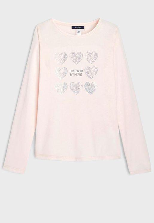 Kids Sequin T-Shirt