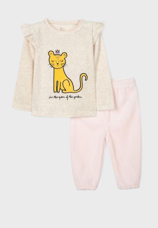 Infant Queen Pyjama Set