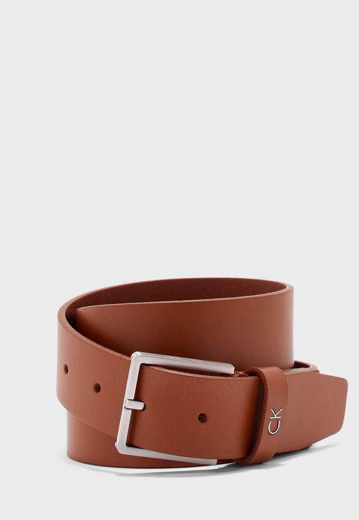 حزام كلاسيكي جلد اصلي