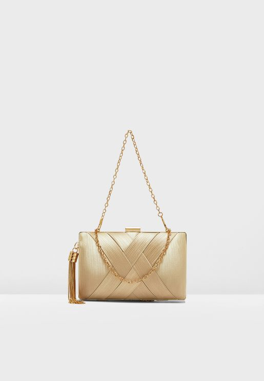 Criss Cross Clutch Bag