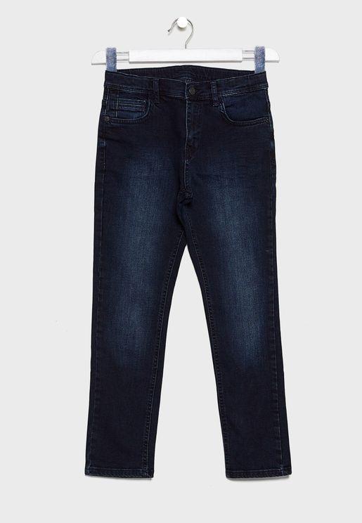 Kids Slim Denim Jeans