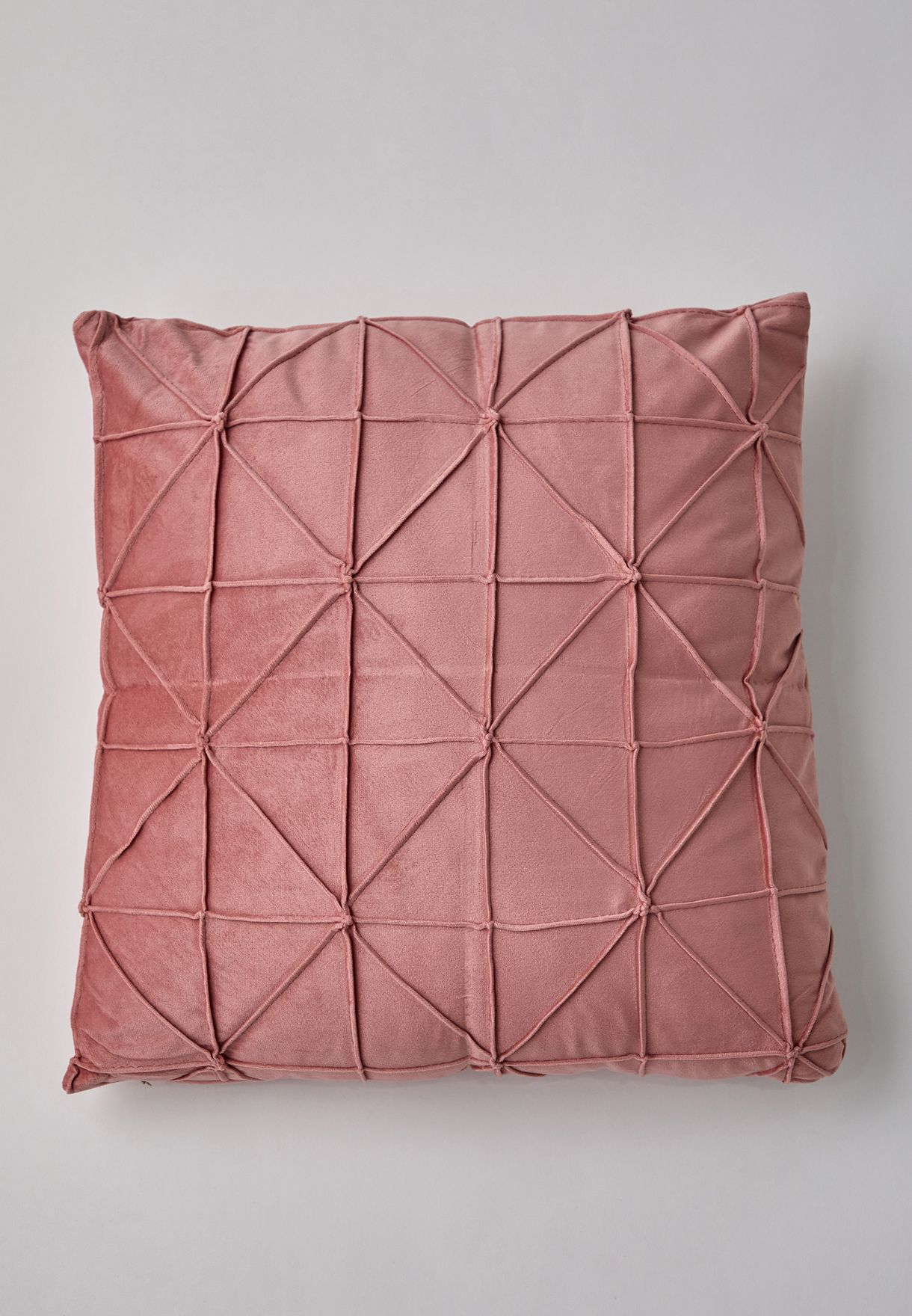Velour Cushion With Insert 43x43cm
