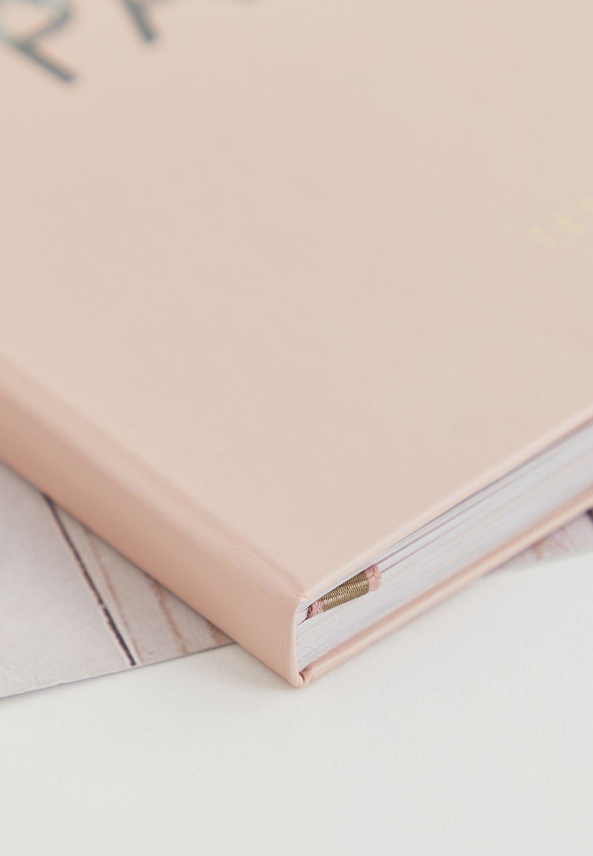 دفتر تخطيط وملاحظات سفر