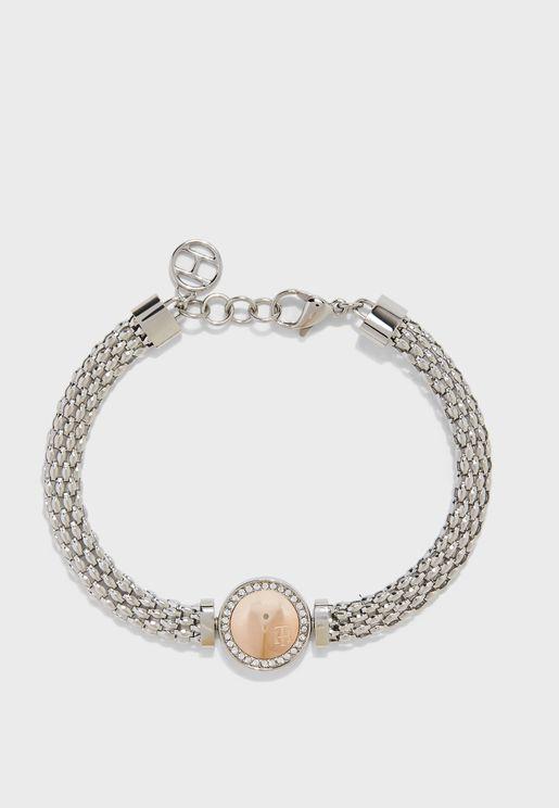 Crystal Pendant Bracelet
