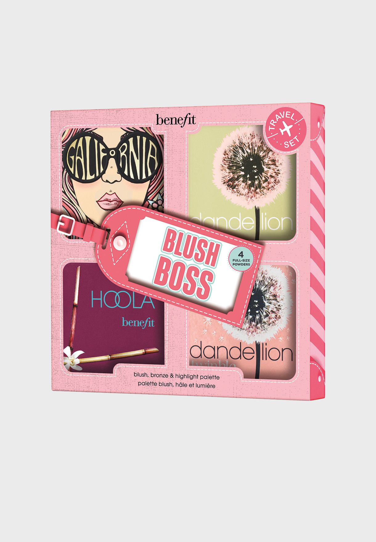 Blush Boss Cheek Palette Gift Set