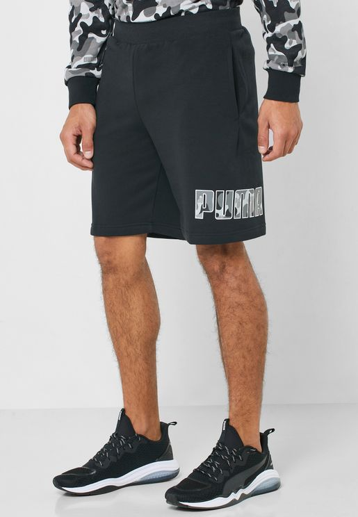 "9"" Rebel Camo Shorts"