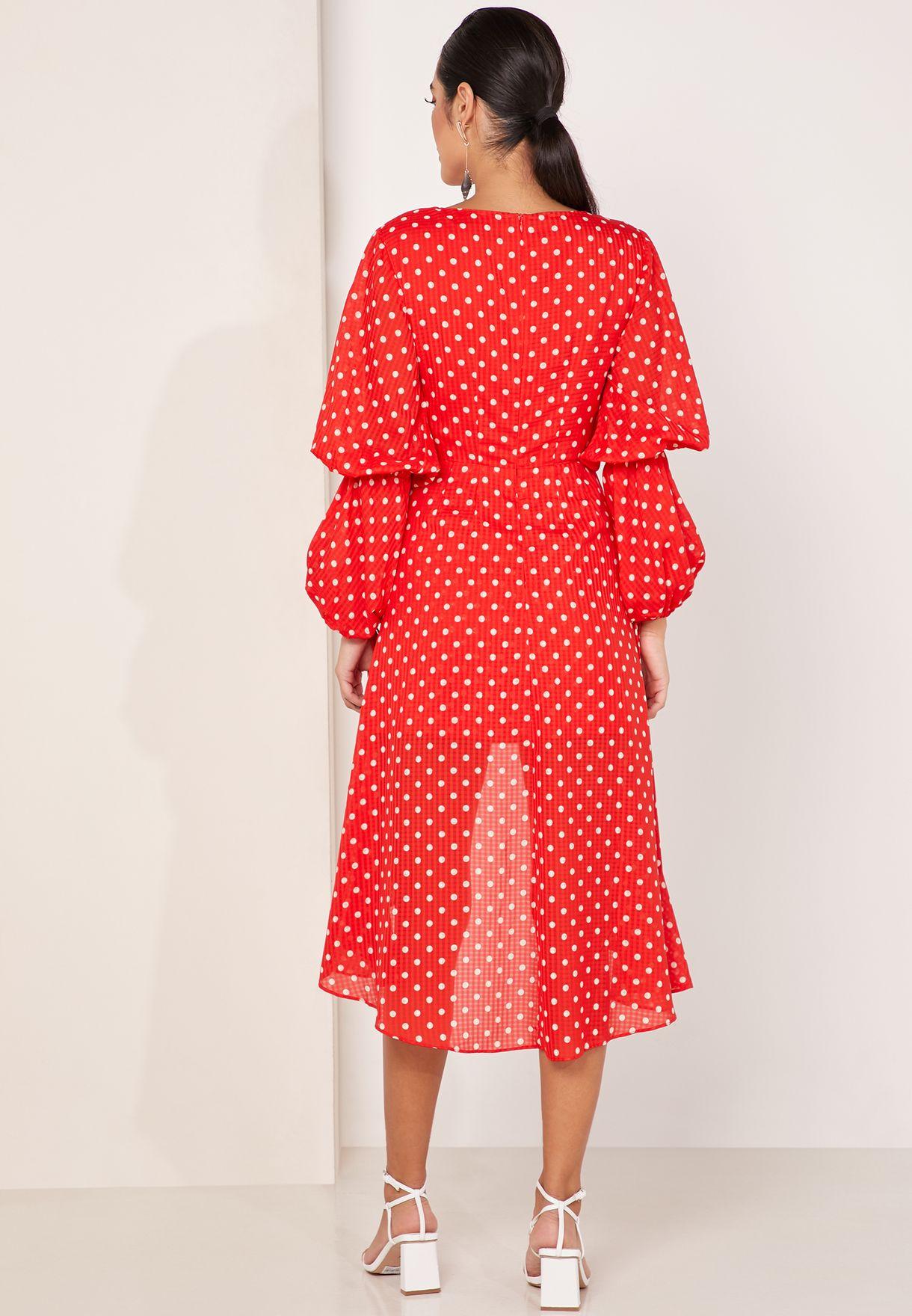 Finders Keepers Rosie Asymmetric Ruffle Dress - Fashion