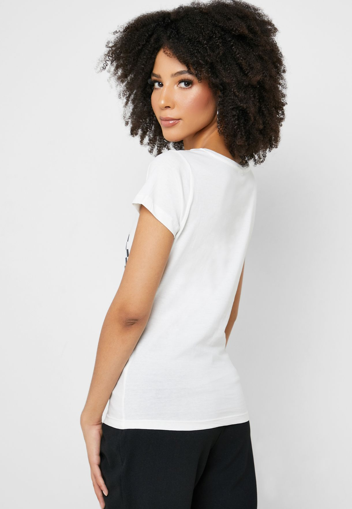 Embroidered Patch T-Shirt