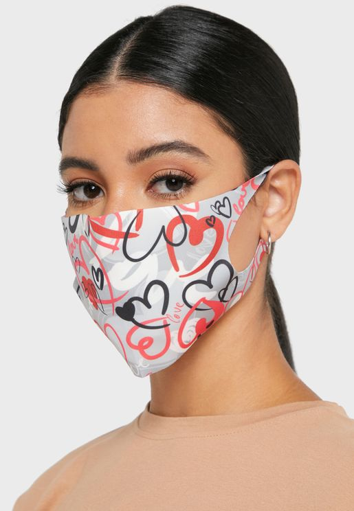 Printed Mask Without Valve