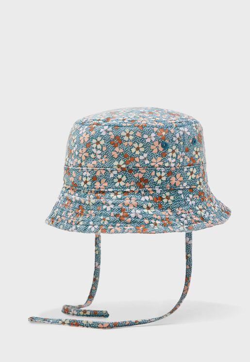 Infant Floral Bucket Hat