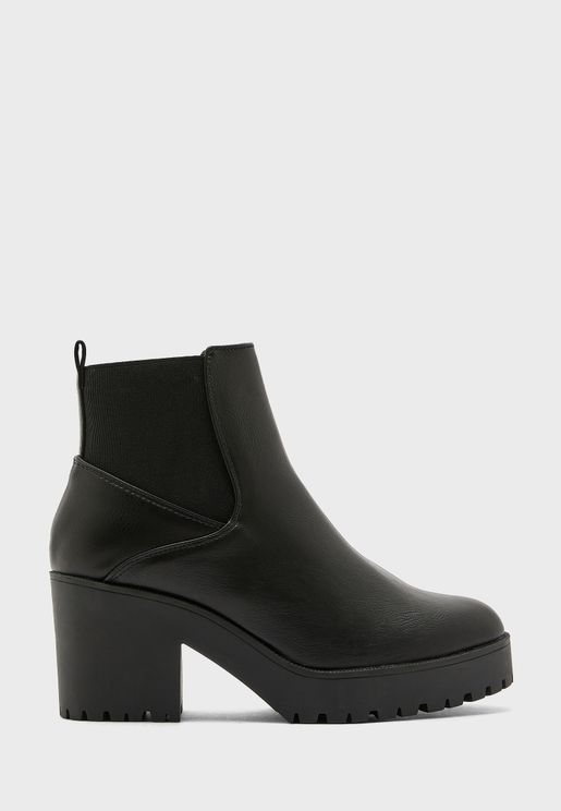 Cybil High Heel Ankle Boot