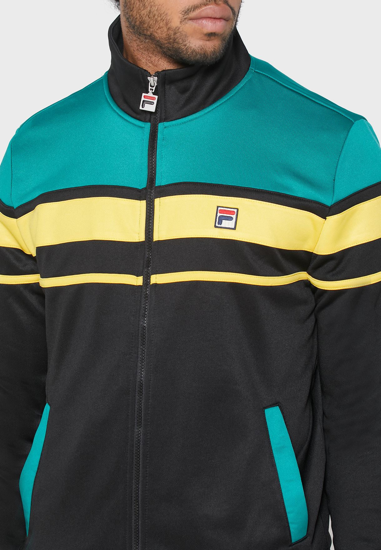 Gordon Colour Block Track Jacket