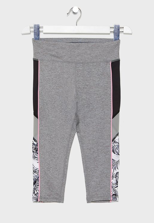 Kids Side Tape Printed Sweatpants