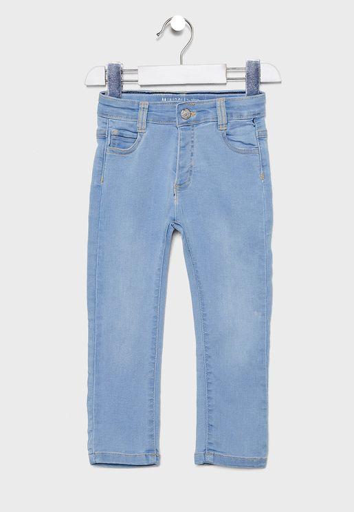 Little Regular Wash Jeans
