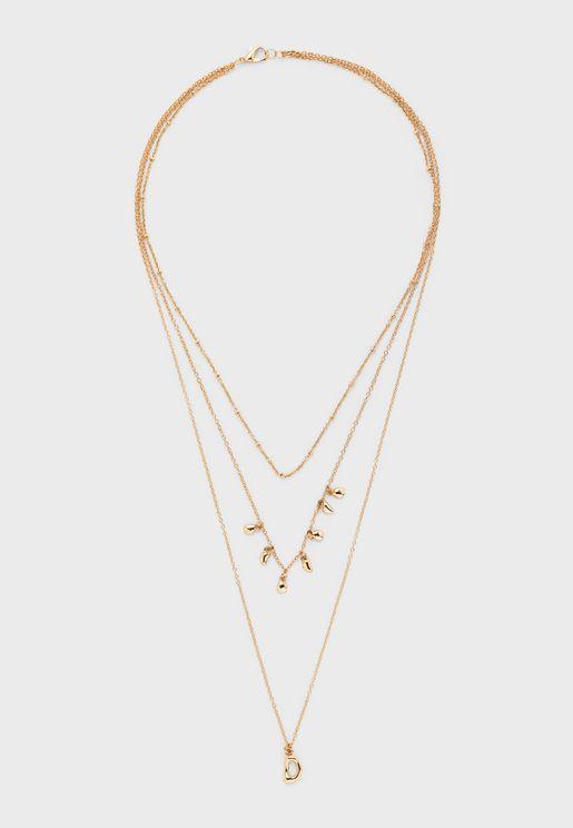 Bobo Layered Necklace