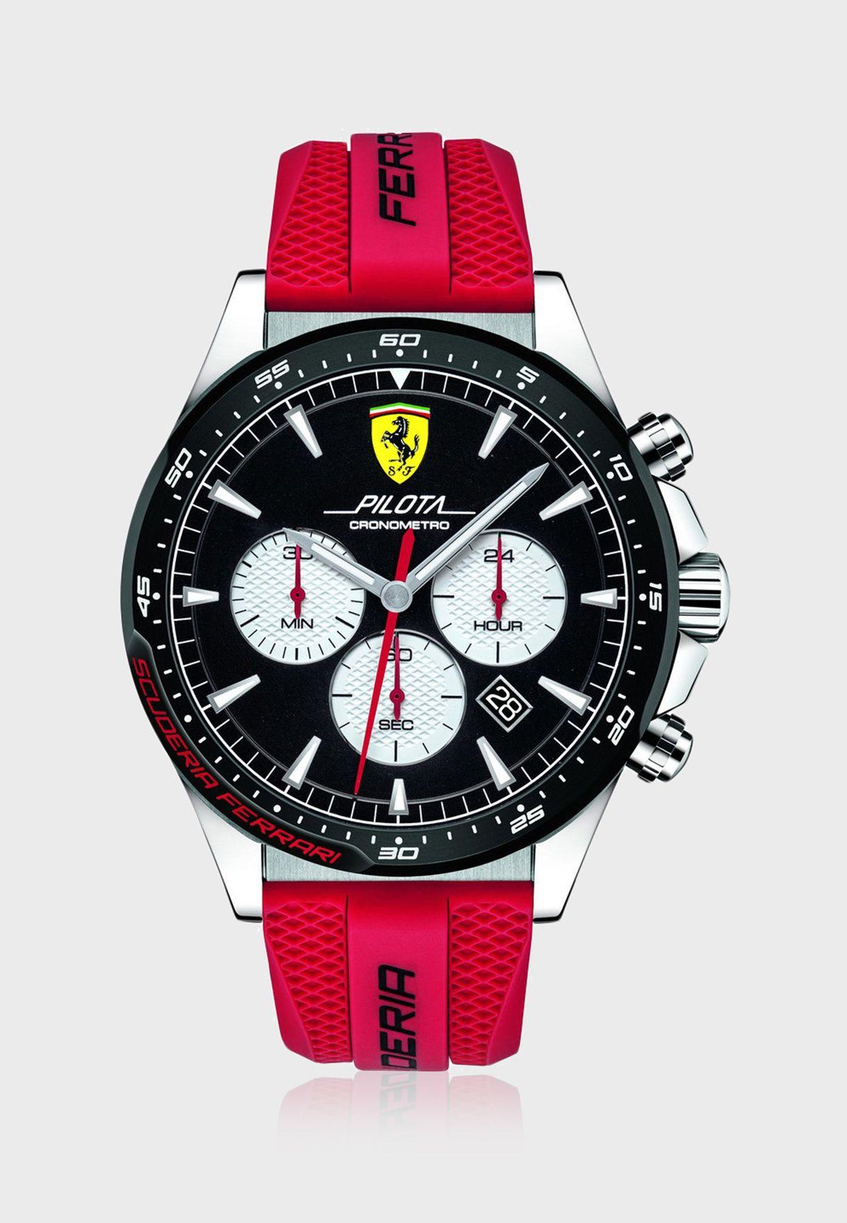 830596 Piloa Chronograph Watch