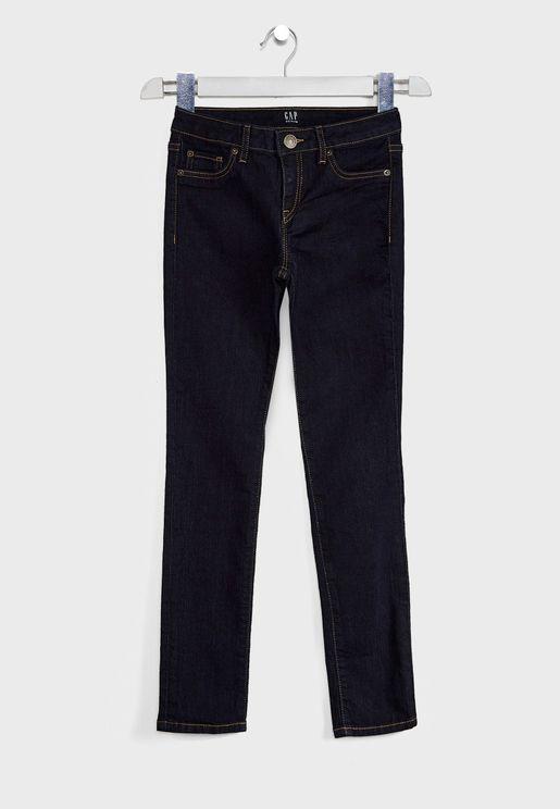 Kids Dark Wash Jeans