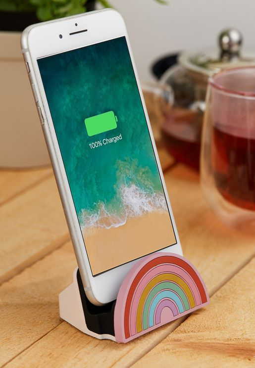 Rainbow iPhone Docking Charger