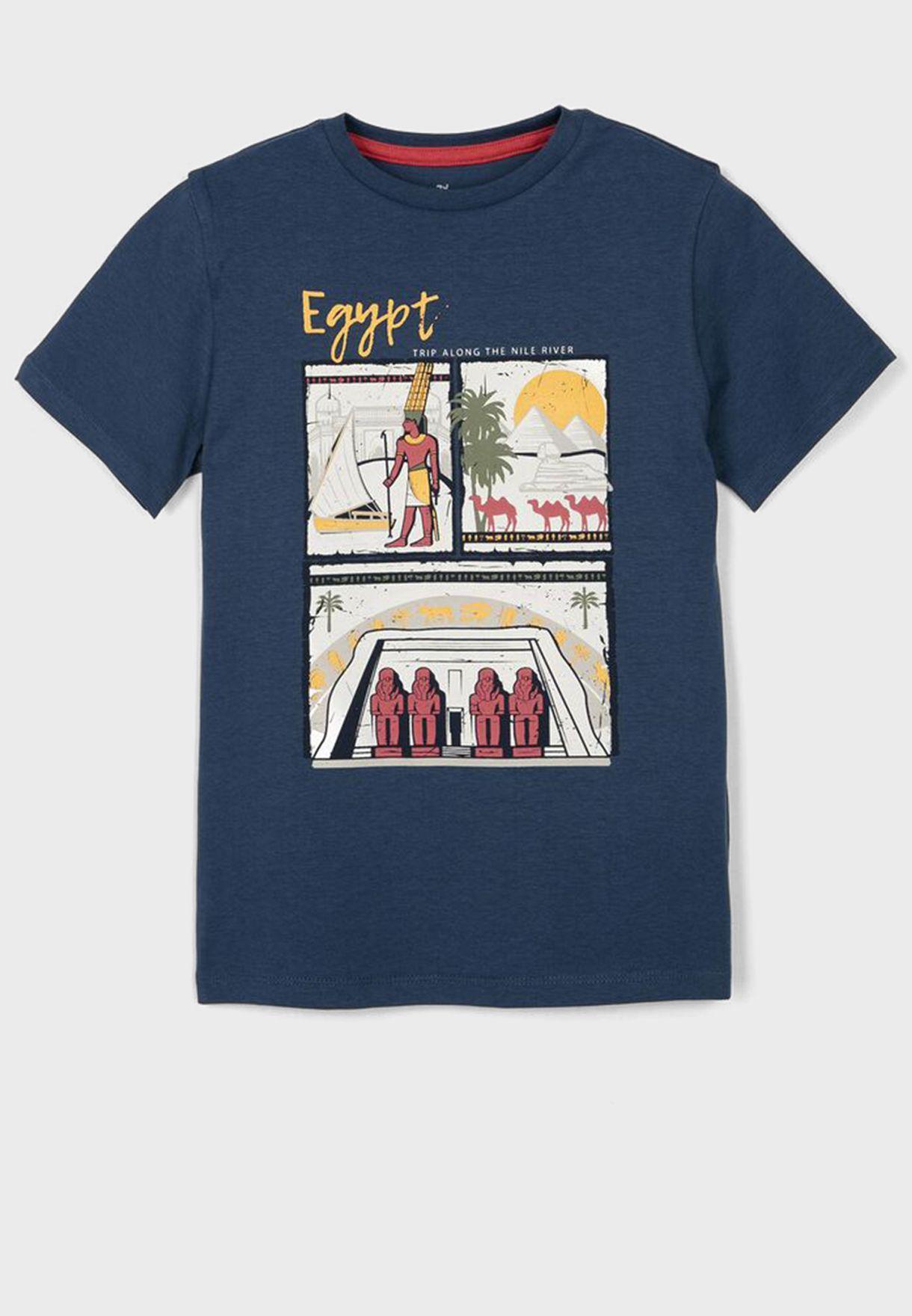 تيشيرت بطبعة مصرية