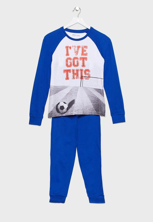 Teen Graphic T-Shirt + Pyjama Set
