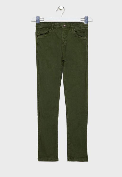 Teen Slim Trousers