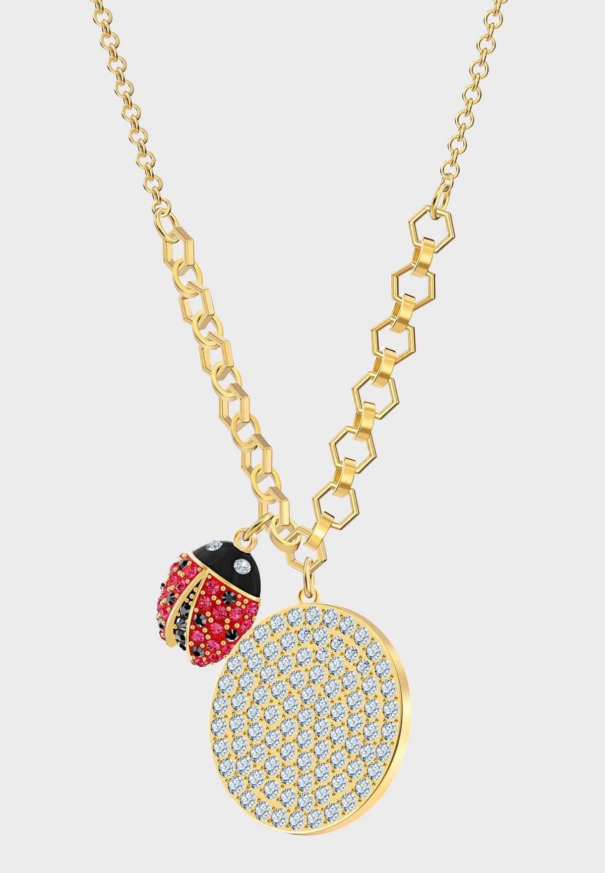 Lisabel Coin Pendant  Necklace