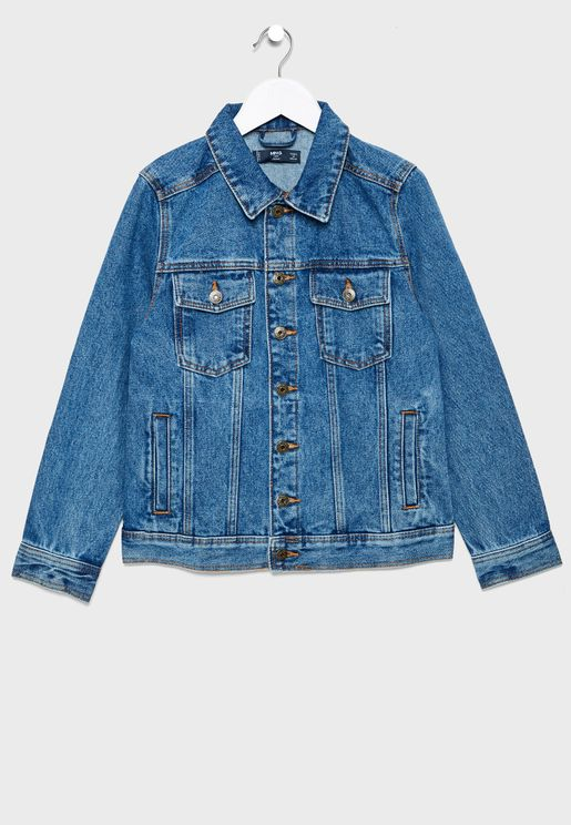Kids John Denim Jacket