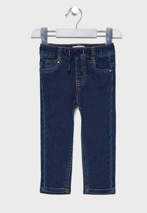 Infant Dark Wash Jogg Jeans