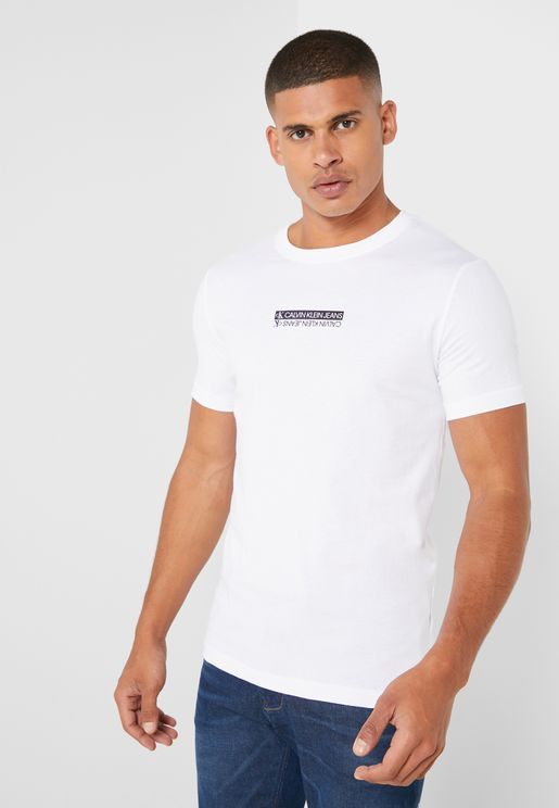 Mirror Logo Crew Neck T-Shirt