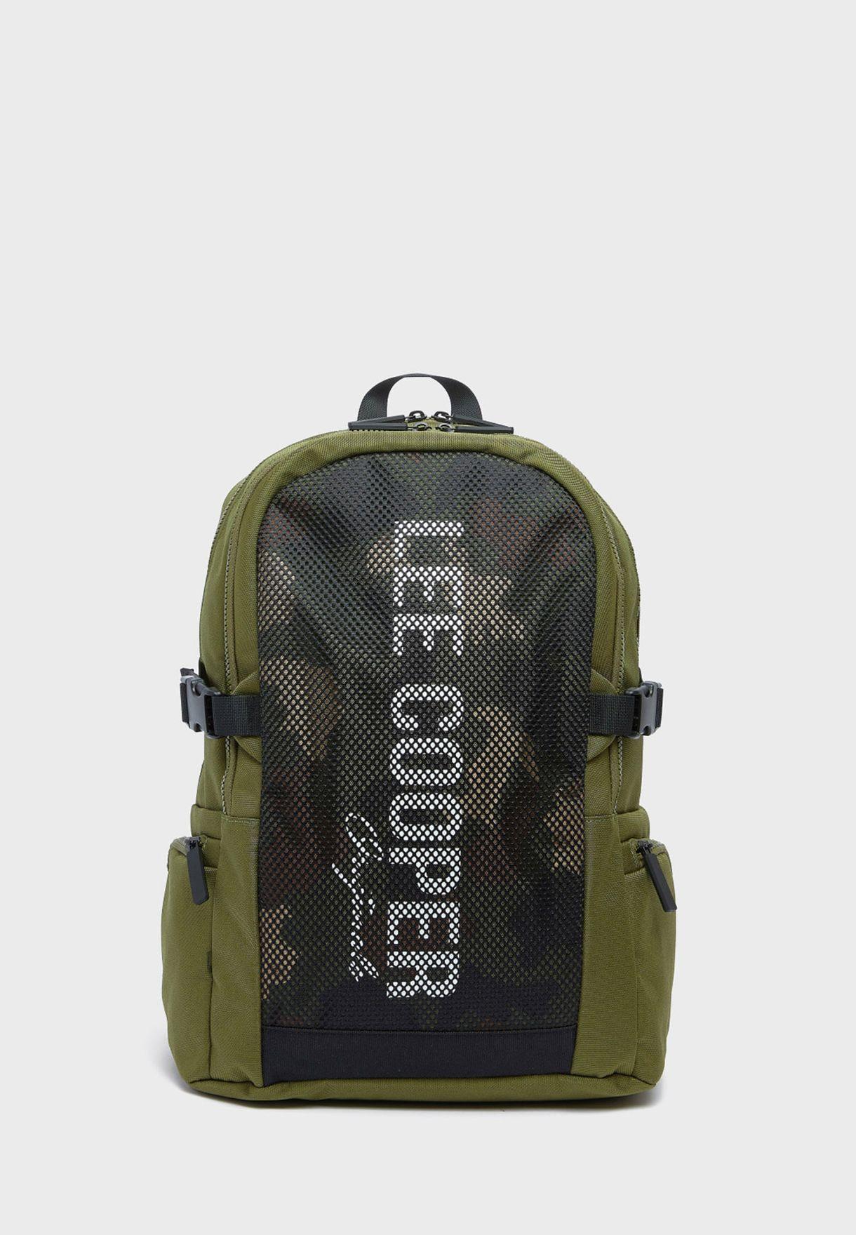 Logo Camo Backpack