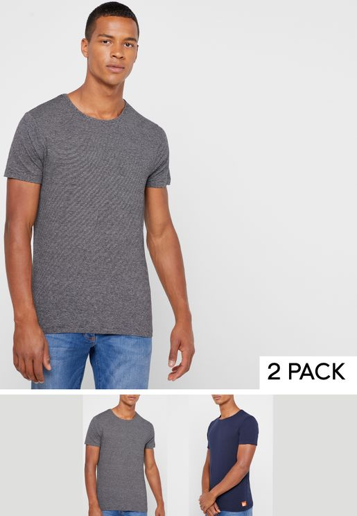 2 Pack Slim Fit T-Shirt