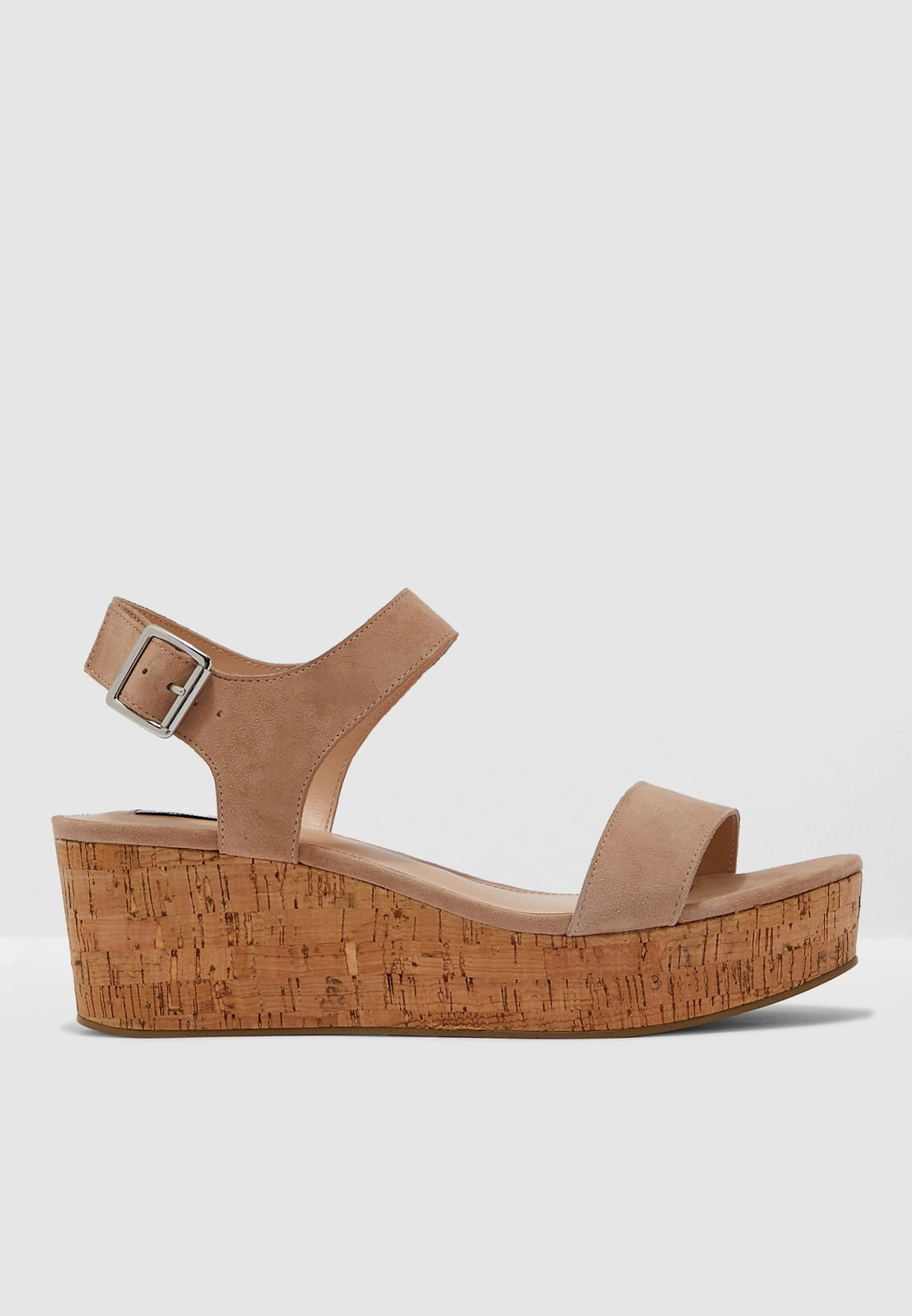 Breathe Sandal - Nude