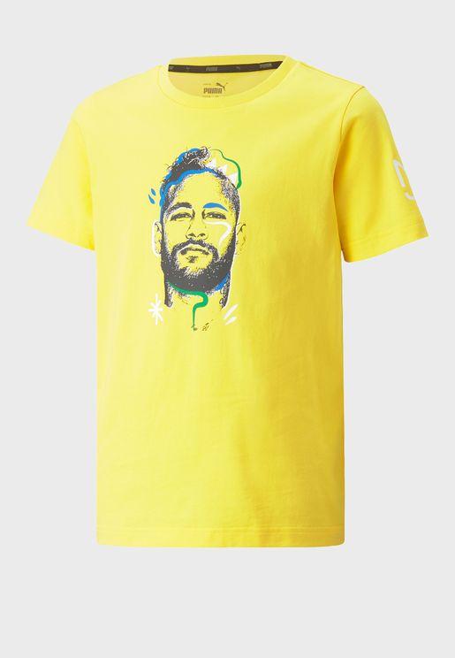 Youth Neymar Jr. Copa Graphic T-Shirt
