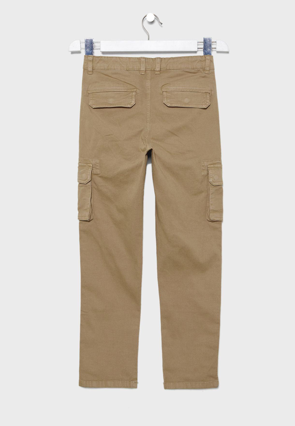Kids Tie Waist Trouser