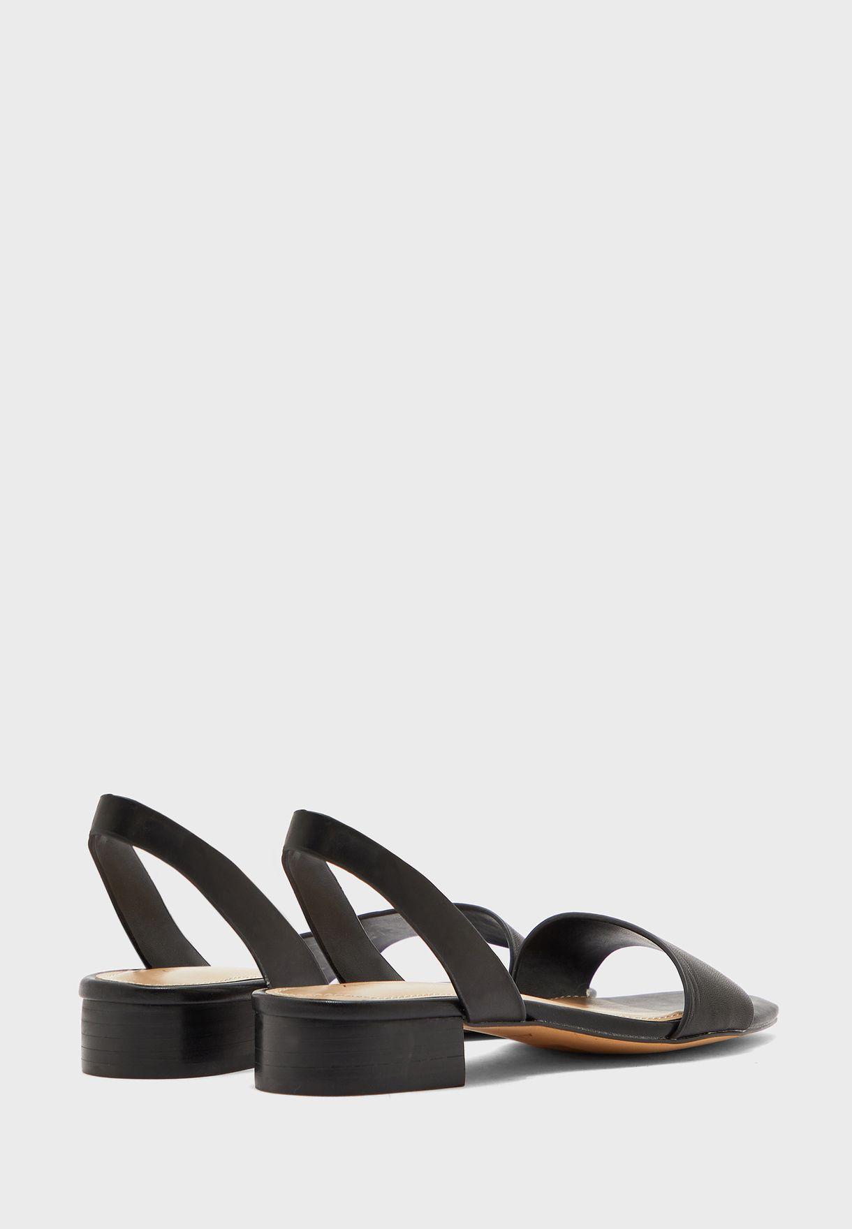 Doredda Low Heel Sandal
