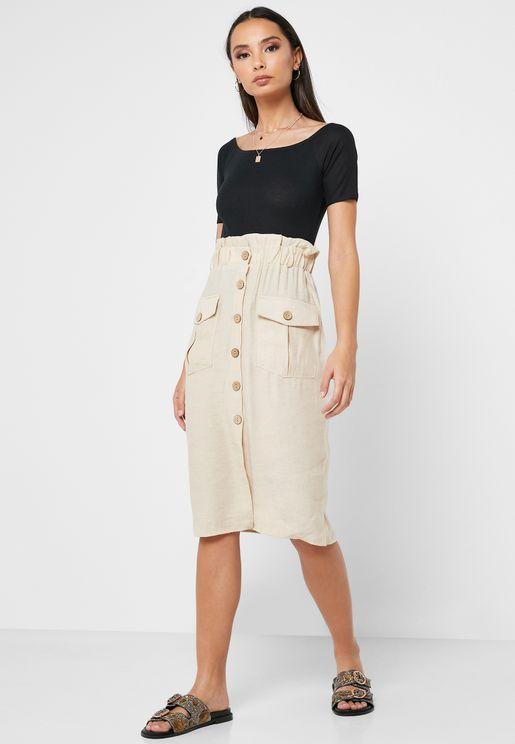 f52f6835de Midi Skirts for Women   Midi Skirts Online Shopping in Dubai, Abu ...