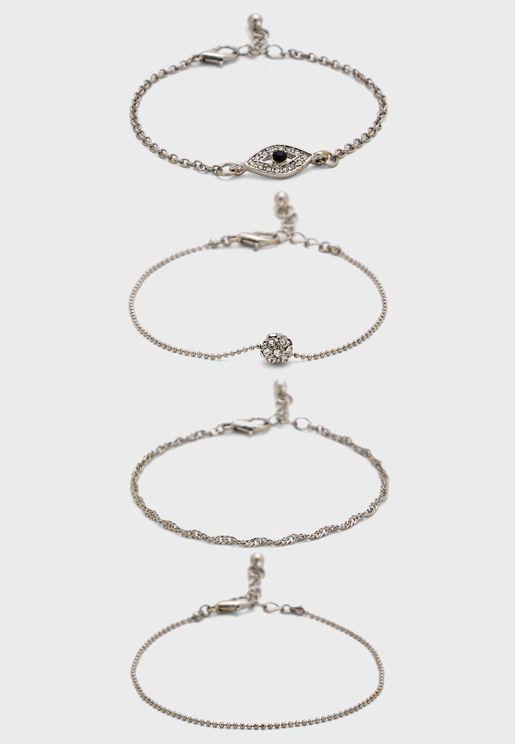 Decorative Multipack Bracelets
