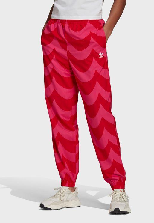 Marimekko Cuffed Woven Sweatpants
