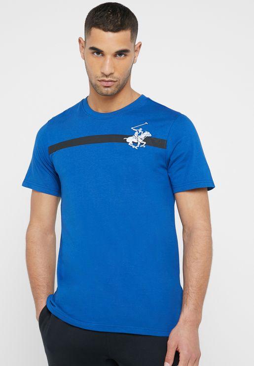 Cross The Line Crew Neck T-Shirt